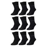9 Paar Pierre Cardin® Herren Business-Socken Schwarz - 39/42