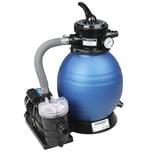 Sandfilteranlage 9.960 L/h mit Vorfilter + Filterglas