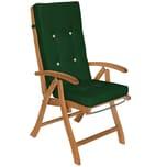 Detex 6x Stuhlauflage für Hochlehner Vanamo - grün