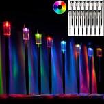 Deuba 16x Solarlampe LED Automatikschaltung