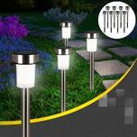 Deuba Solarlampe Wetterfest Dämmerungssensor