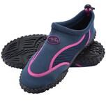 Badeschuhe/Strandschuhe Damen Größe 36 blau/pink