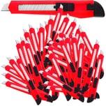 Deuba Teppichmesser 9mm Cuttermesser 50 Stück