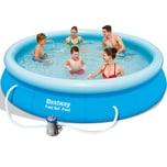 Bestway Fast Set Pool inkl. Filterpumpe Ø 366cm