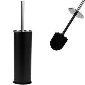 Deuba Toilettenbürste mit Behälter Schwarz