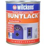 Wilckens Buntlack seidenglänzend Enzianblau 0,75 L
