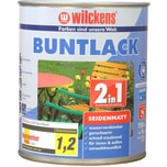 Wilckens 2in1 Buntlack seidenmatt Feuerrot 0,75 L