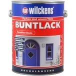 Wilckens Buntlack hochglänzend Cremeweiß 2,5 L