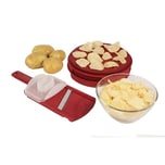 Broszioco 2er Set ChipsBlizz Kartoffel Chips Maker - fettfrei