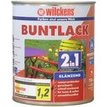 Wilckens 2in1 Buntlack glänzend Feuerrot 0,75 L