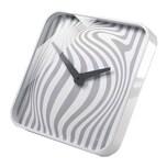 Sigel Design-Wanduhr artetempus Modell opta weiß-grau