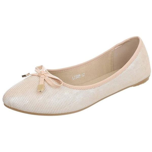 Edelnice Ballerinas L7309 gold