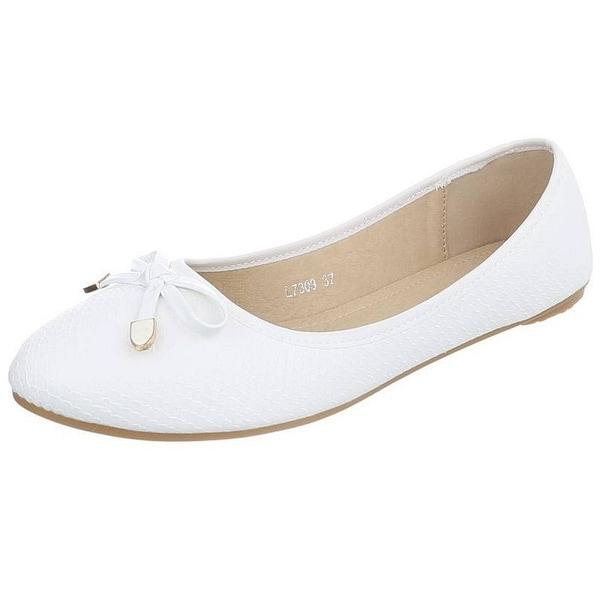 Edelnice Ballerinas L7309 weiß