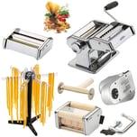 GEFU XXL Pasta-Set Pasta Perfetta deluxe Nudelmaschine inkl. Elektromotor und Pastatrockner