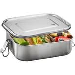 GEFU 12735 Edelstahl Lunchbox ENDURE groß, 1400 ml