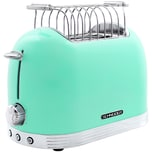 Schneider SL T2.2 SM Vintage Edelstahl Toaster in Retro Design, Mintfarben
