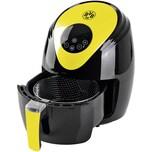 Borussia Dortmund 09335 Digital Heißluft-Fritteuse 2,5 Liter, Schwarz/Gelb, 1.500 Watt