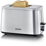 Severin AT 2513 Edelstahl Toaster TURBO Edition, 1600 Watt