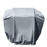 bremermann Schutzhülle für rechteckige Grillgeräte wetterfest grau