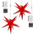 AMARE Lichterkette 2er LED Sternenkette warmweiß