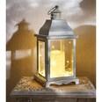 Gartenfreude Laterne Metall Laterne 2er-Set mit LED Kerze