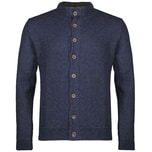 Gweih&Silk Strickjacke Herren Blau