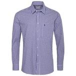 Almsach Trachtenhemd Herren Blau