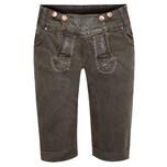 Hangowear Jeans-Lederhose Damen Dunkelbraun