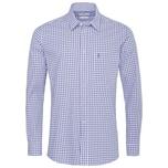 Almsach Trachtenhemd Herren Hellblau