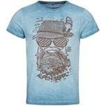 Hangowear Trachtenshirt Roland Herren Blau
