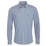 Almsach Trachtenhemd Herren Blau-Grün