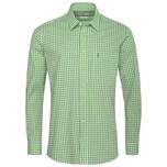Almsach Trachtenhemd Herren Hellgrün