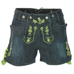 Almsach Jeans-Lederhose Carmen in blau von Almsach Damen