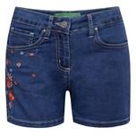 Country Line Jeansshort Damen Blau