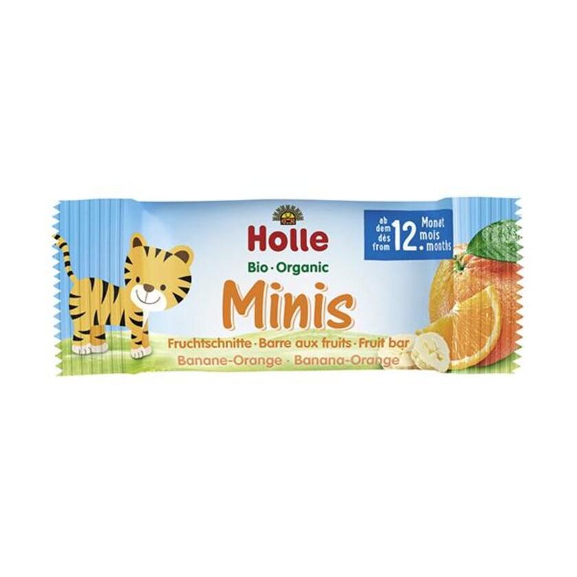 Holle Minis Banane Orange 100g