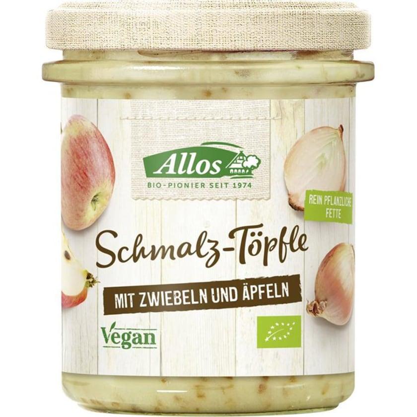 Allos Schmalztöpfle Zwiebel Apfel 150g
