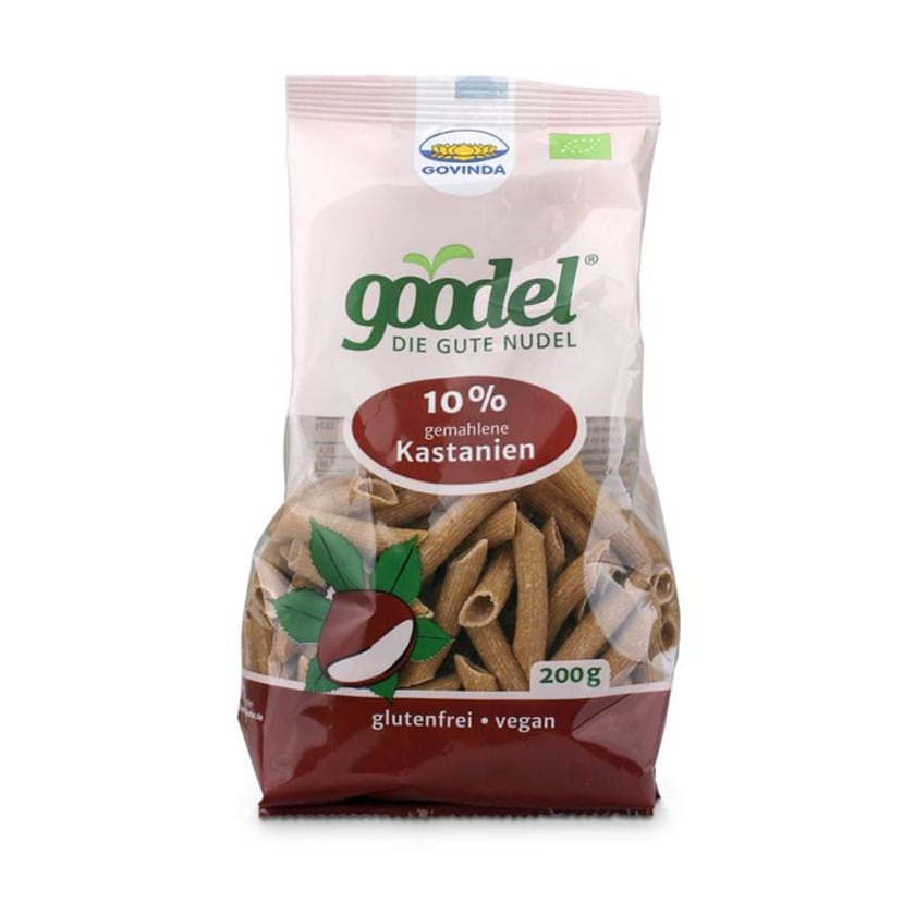 Govinda Goodel Nudel Kastanie 200g