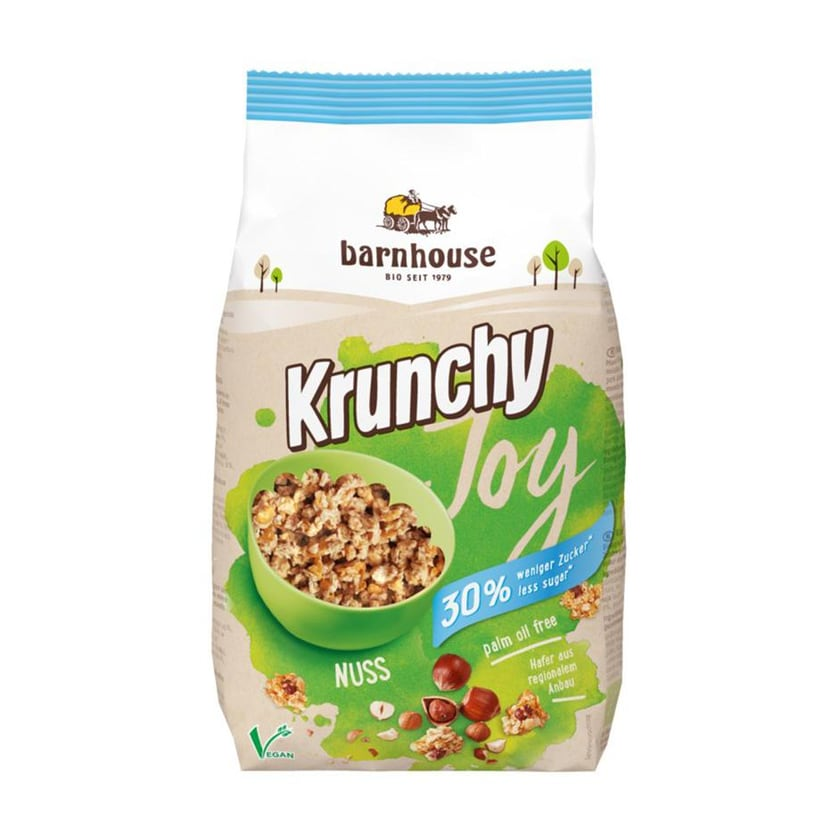 Barnhouse Krunchy Joy Nuss 375g