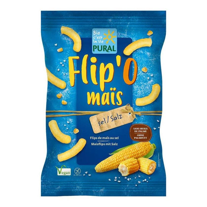 Pural Flip' O maïs Salz 100g Bio