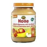 Holle Baby Food Apfel & Banane mit Aprikose 190g
