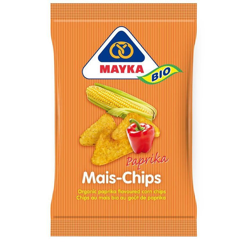 Mayka Mais-Chips Paprika 125g Bio