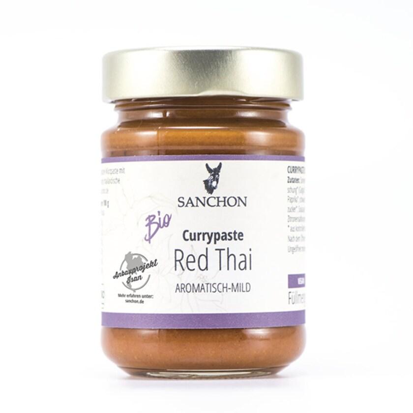 Sanchon Bio Currypaste Red Thai 190g
