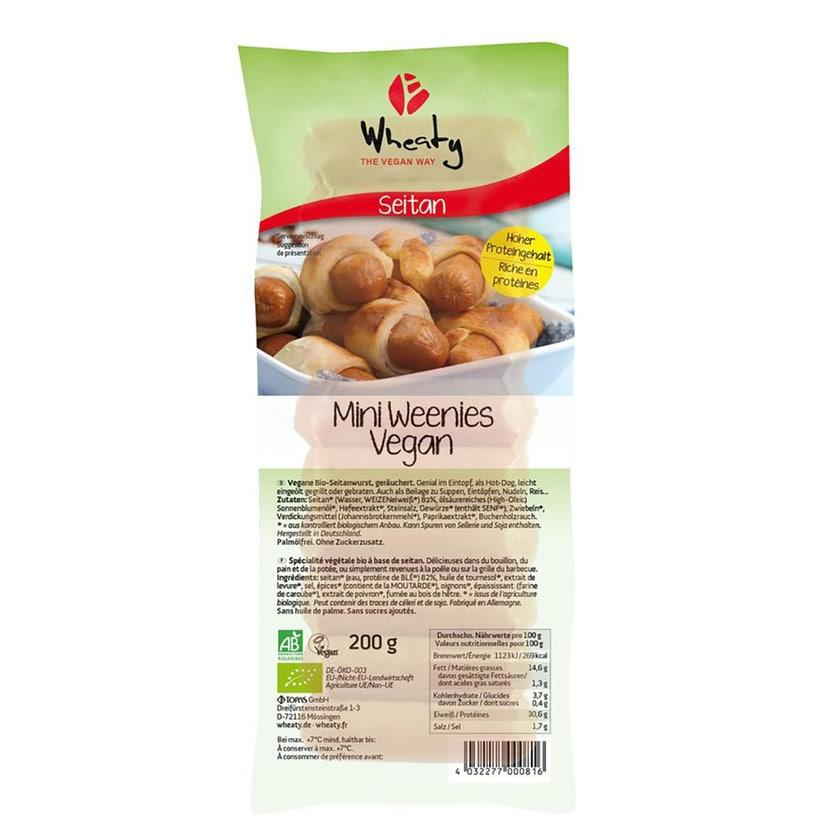 Wheaty Bio Winzi-Weenies Würstchen 200g