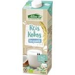 Allos Reis-Kokos-Drink Naturell 1l