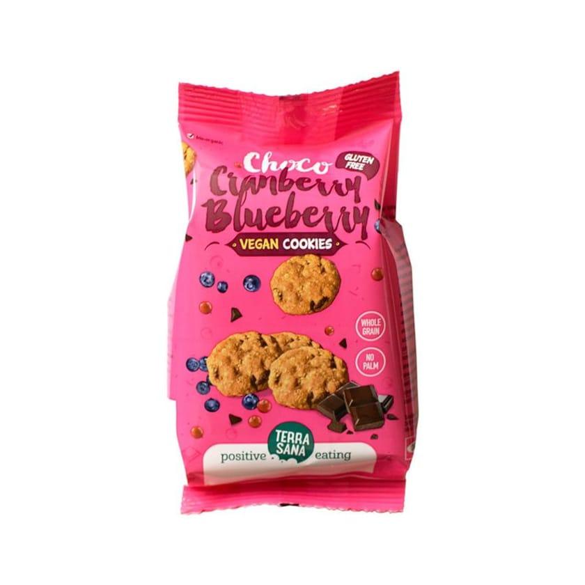 Terrasana Schoko Cranberry & Blaub.Cookie Veg 150g