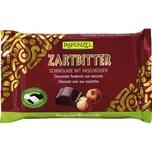 Rapunzel Bio Zartbitter Schokolade mit ganzen Nüssen 100g