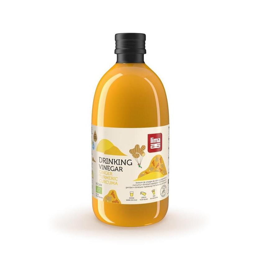 Lima Drinking Vinegar Gingembre Curcuma 500ml