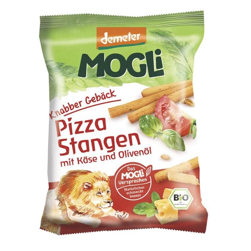 Mogli Knabber Gebäck - Pizza Stangen mit Käse und Olivenöl 75g Bio