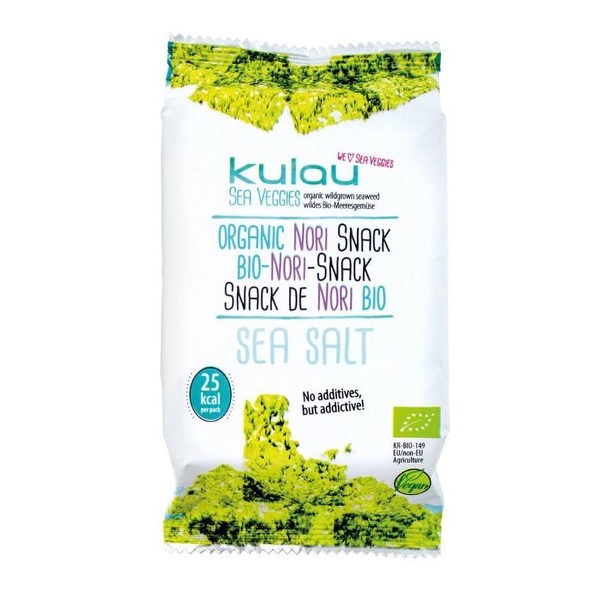 Kulau Bio-Nori-Snack SEA SALT 4g