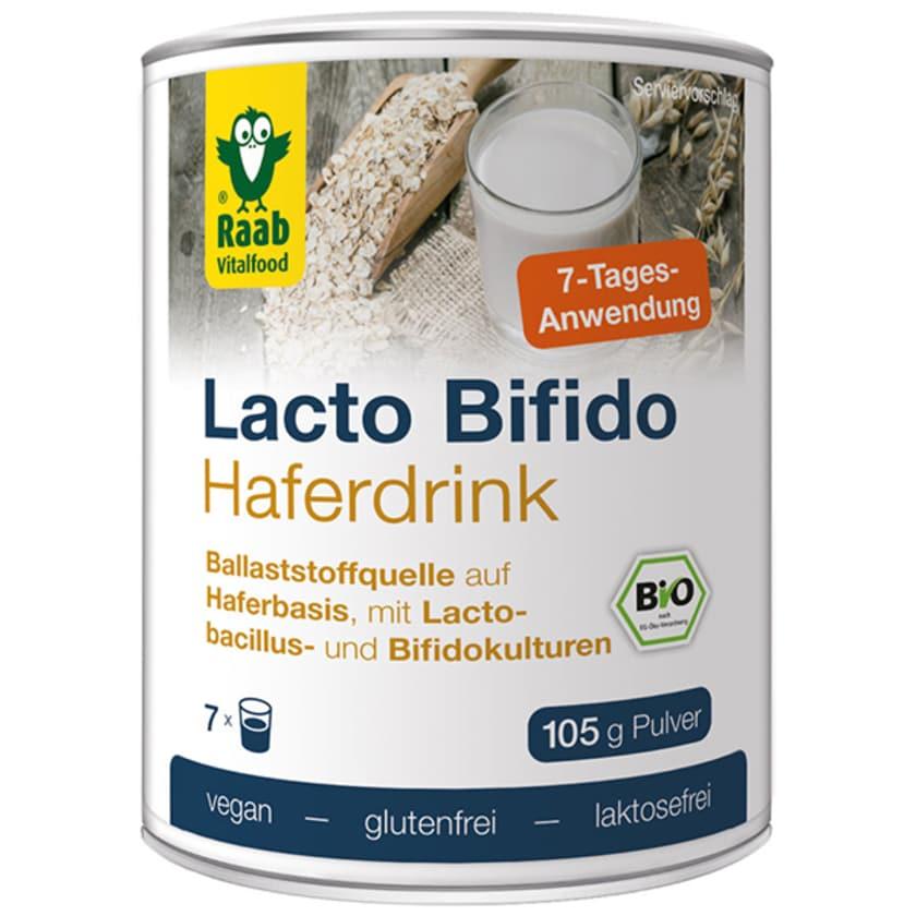 Raab Vitalfood Lacto Bifido Haferdrink Pulver 105g
